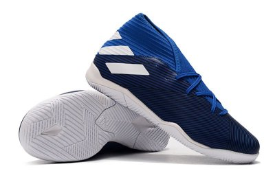 Chuteira Futsal Adidas Nemeziz 19.3 IN Azul FRETE GRÁTIS