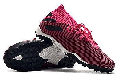 Chuteira Society Adidas Nemeziz 19.3 Roxa