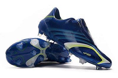 Chuteira Campo Adidas +F50 FG Tunit Azul FRETE GRÁTIS