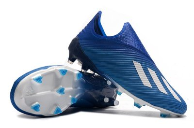 Chuteira Campo Adidas X 19 Azul Escuro FRETE GRÁTIS