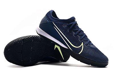 Chuteira Futsal Nike Mercurial Vapor 13 Pro IC Azul Escuro FRETE GRÁTIS