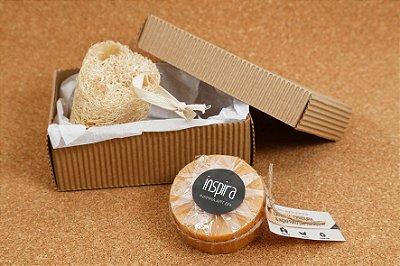 KIT B = 1 Sabonete + 1 Bucha Vegetal