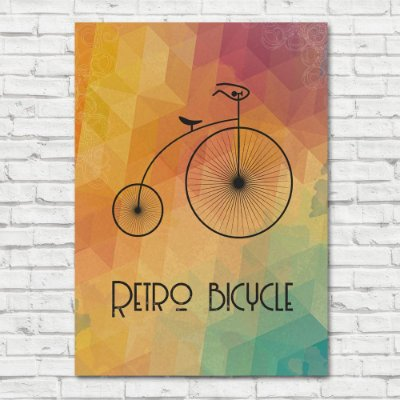 Quadro Retro Bicycle