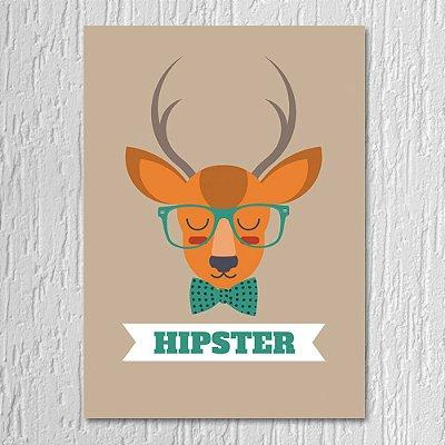 Quadro Alce Hipster
