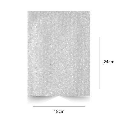 Envelope Plástico Bolha 18 x 24 cm - 500 pçs.