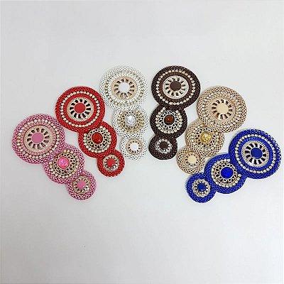 Cabedal I - Tecido Mandala