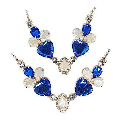 Cabedal V - O Coração do Oceano (Azul Royal)