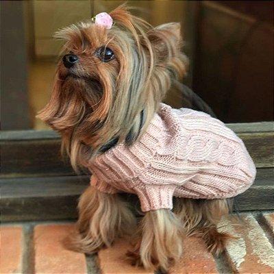 Pet Tricot Tranças Comphy Light Pink