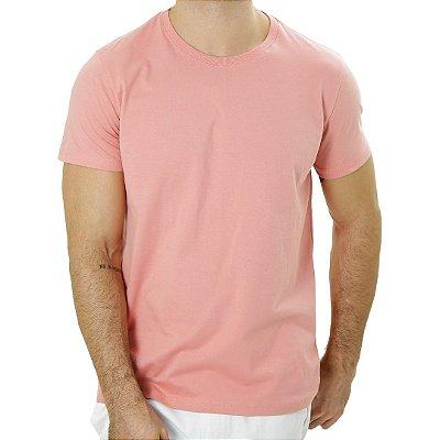 Camiseta Básica Salmão