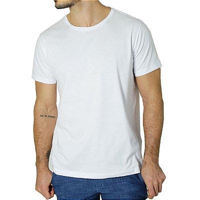 Camiseta Algodão Pima Branca