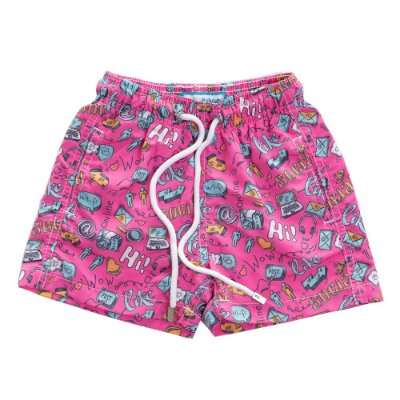 Short Infantil Estampado Like Bidoo