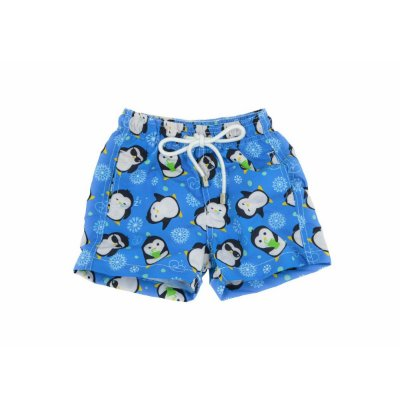Short Infantil Pinguim