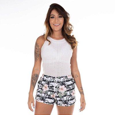 Short Feminino Floral