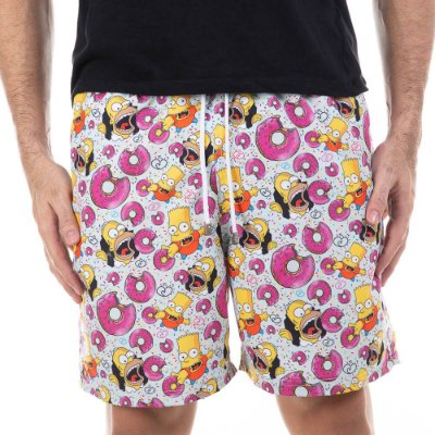 Short Masculino Estampado Simpsons Bidoo