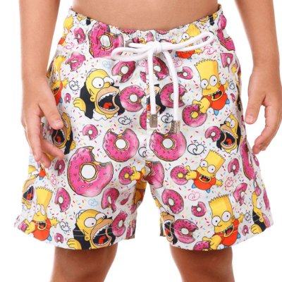 Short Infantil Estampado Simpsons