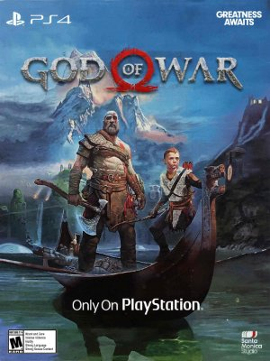 JOGO GOD OF WAR - PS4 - MÍDIA FÍSICA