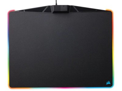 MOUSEPAD GAMER CORSAIR MM800 POLARIS RGB RÍGIDO CONTROL MÉDIO 350x260mm CH-9440020-NA