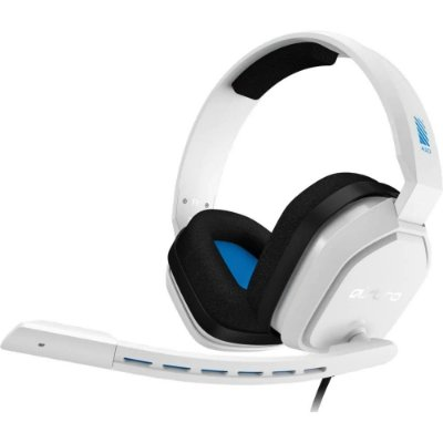 HEADSET GAMER ASTRO A10 BRANCO/AZUL PARA XBOX ONE/NIN SWITCH/PC