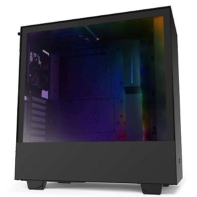 GABINETE GAMER H510I MATTE BLACK - CA-H510I-B1