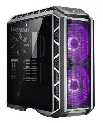GABINETE GAMER COOLER MASTER MASTERCASE H500P MESH RGB VIDRO TEMPERADO - MCM-H500P-MGNN-S10