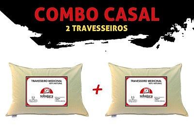 Combo Casal - 2 Travesseiros Sobagara