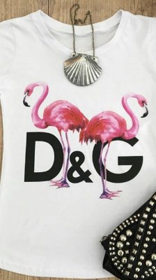 T-Shirt Flamingos
