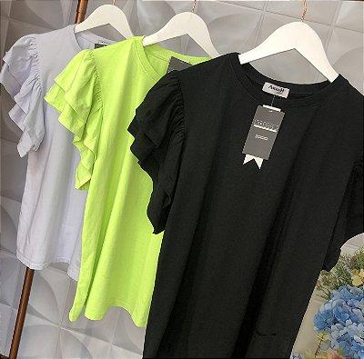 T-Shirt  Babado Duplo