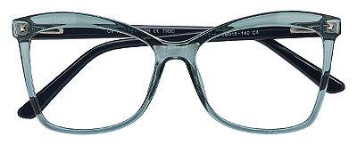 Armação Óculos Receituário AT 2208 Cinza Transparente