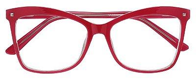 Armação Óculos Receituário AT 2208 Vermelho
