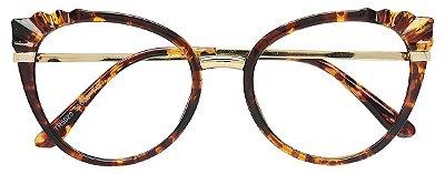 Armação Óculos Receituário AT 5020 Tartaruga