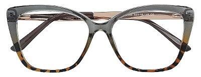 Armação Óculos Receituário AT 2104 Cinza/Tartaruga