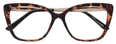 Armação Óculos Receituário AT 2104 Tartaruga