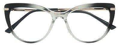 Armação Óculos Receituário AT 2097 Preto Degradê