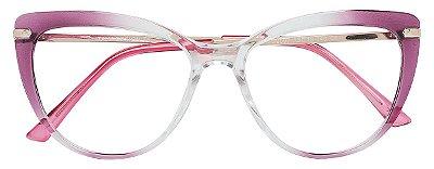 Armação Óculos Receituário AT 2097 Vinho Degradê
