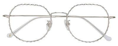 Armação Óculos Receituário AT 19111 Prata
