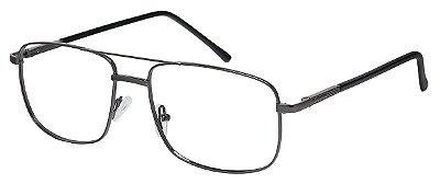 Armação Óculos Receituário AT 68015 Chumbo