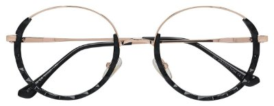 Armação Óculos Receituário AT 98192 Preto/Dourado