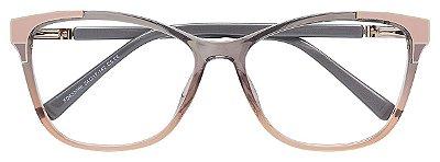 Armação Óculos Receituário AT 633086 Cinza Degrade