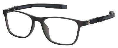 Armação Óculos Receituário Infantil AT 6105 Preto Fosco (05 A  10 Anos)