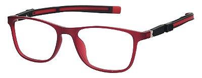 Armação Óculos Receituário Infantil AT 6105 Vermelho (05 A  10 Anos)