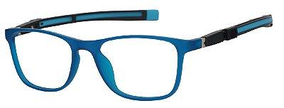 Armação Óculos Receituário Infantil AT 6105 Azul (05 A  10 Anos)