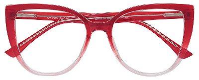 Armação Óculos Receituário AT 4276 Vermelho Degradê