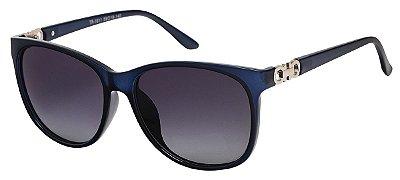 Óculos de Sol Feminino AT 1611 Azul Transparente