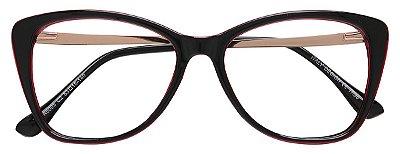 Armação Óculos Receituário AT 6005 Vinho
