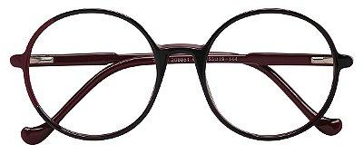 Armação Óculos Receituário AT 206051 Vinho