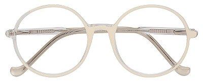 Armação Óculos Receituário AT 206051 Branco/Transparente