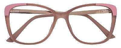 Armação Óculos Receituário AT 2118 Nude
