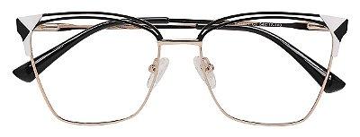 Armação Óculos Receituário AT 1014 Preto