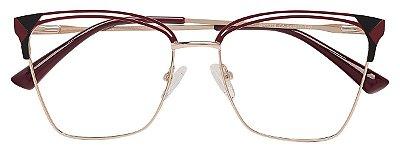 Armação Óculos Receituário AT 1014 Vinho