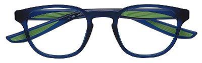 Armação Óculos Receituário Infantil AT 1072 Azul/Verde (03 A 08 Anos)